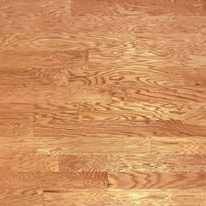 Red Oak Natural 3/8 in. Thick x 4-3/4 in. Wide x Random Length Engineered Click Hardwood Flooring (33 sq. ft. / case)