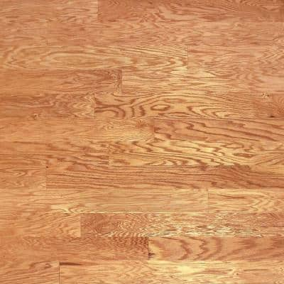 Heritage Mill Red Oak Natural 3 8 In Thick X 5 In Wide X Random Length Engineered Hardwood Flooring 24 15 Sq Ft Case Pf9675 The Home Depot