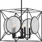 Cumberland 5-Light Black Pendant