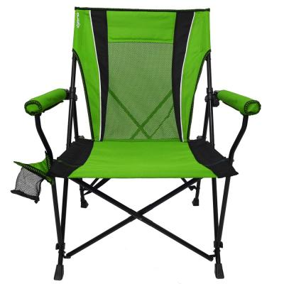 Ireland Green Dual Lock Hard Arm Chair