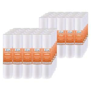 1-Micron 10-Inch by 2.5-Inch Sediment Filter, 50-Pack