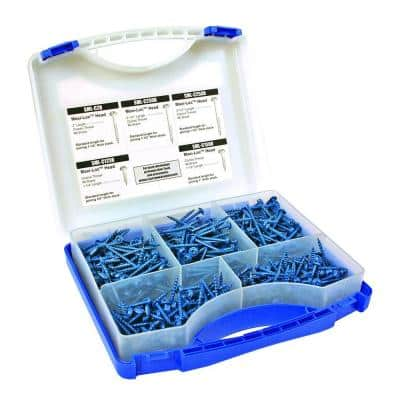Blue-Kote Pocket-Hole Screw Kit (450-Count)