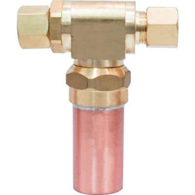 3/8 in. x 3/8 in. Water Hammer Arrestor Compression Tee