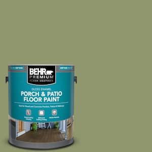 1 gal. #410F-5 Boston Fern Gloss Enamel Interior/Exterior Porch and Patio Floor Paint
