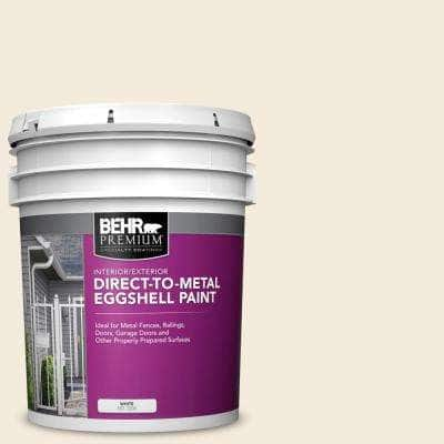 5 gal. #PPU5-10 Heavy Cream Eggshell Direct to Metal Interior/Exterior Paint