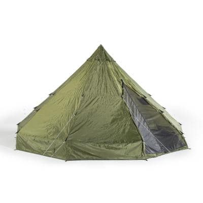 Deluxe 12-Person 18 ft. x 18 ft. TeePee with Vented Roof