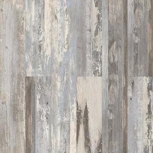Gallery Oak Grey 6 in. W x 36 in. L Peel and Stick Wall Luxury Vinyl Plank Flooring (18 sq. ft./case)