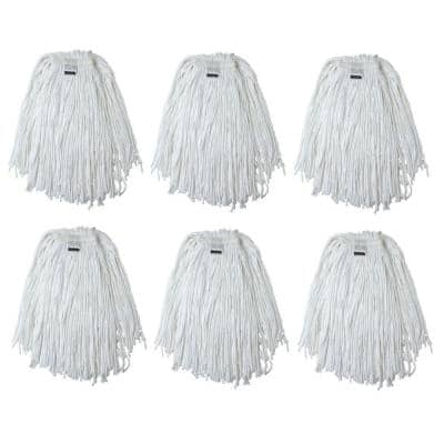 #24, 4-Ply Cotton Mop Head with Cut-Ends (6-Pack)