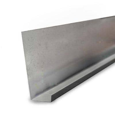 7.5 in. x 10 ft. Galvanized Steel Water Rain Diverter Drip Edge Flashing