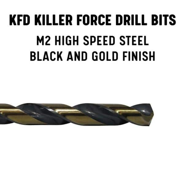 Drill America 25//64 TIN-Coated Drill DWDTN25//64