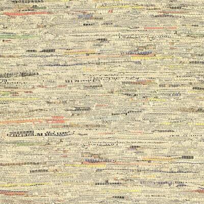 Clip Multicolor Newspaper Print Multicolor Wallpaper Sample