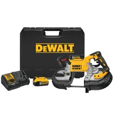 20-Volt MAX Cordless Brushless 5 in. Dual Switch Bandsaw with (2) 20-Volt Batteries 5.0Ah & Charger