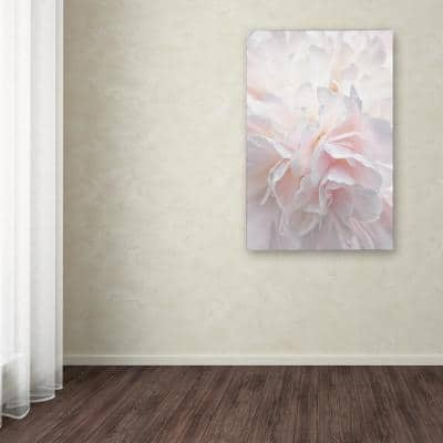 """47 in. x 30 in. """"Pink Peony Petals IV"""" by Cora Niele Printed Canvas Wall Art"""