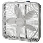 Premium 20 in. 3-Speed Box Fan