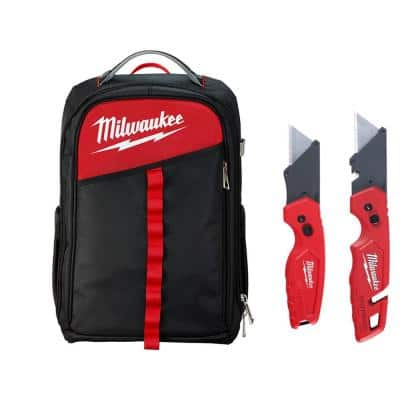 Low Profile Backpack with Fastback Knives (2-Pack)