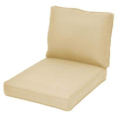 Spring Haven CushionGuard Oatmeal Replacement Outdoor Sectional Cushion