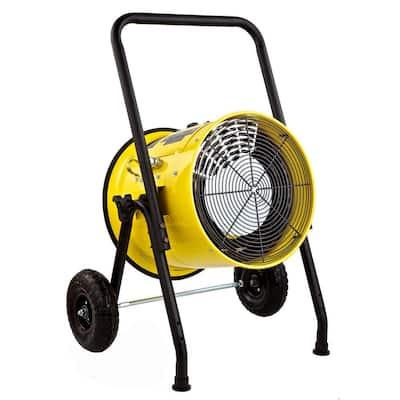 15000-Watt Salamander Construction Single Phase 240-Volt Portable Fan Forced Electric Heater