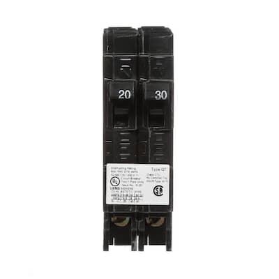 20/30 Amp Single Pole Tandem Type QT Circuit Breaker