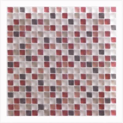 Tutti Frutti 12 in. x 12 in. x 8 mm Glass Mosaic Wall Tile (5 sq. ft. / case)