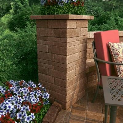 RumbleStone Trap 3.5 in. x 10.25 in. x 7 in. Sierra Blend Concrete Garden Wall Block (120 Pcs. / 29.9 Face ft. / Pallet)