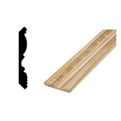 DM CM1176 - 5/8 in. x 4-7/16 in. Solid Pine Crown Moulding