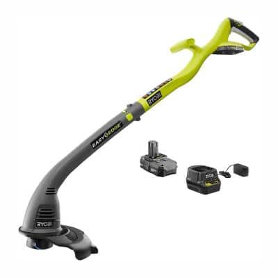 Reconditioned ONE+ 18V Cordless Battery String Trimmer/Edger with Battery and Charger