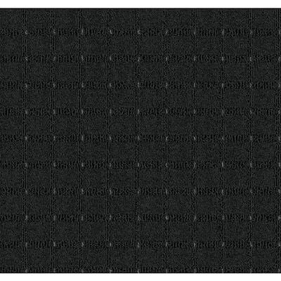 Camp Fire - Color Coals Pattern Black Carpet