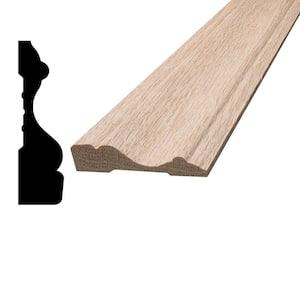 5/8 in. x 2-1/2 in. x 96 in. Oak Wood Casing Moulding