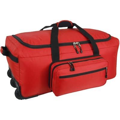 Mini Monster Bag in Red