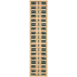 Martha Stewart Cornucopia Gold 2 ft. 3 in. x 10 ft. Runner Rug