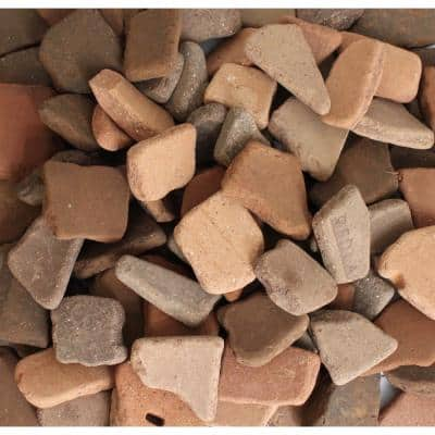 1 in. to 2 in. 0.25 cu. ft. 20 lbs. Bag Reclaimed Tumbled Roof Tile