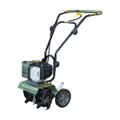 Earth Series 10 in. 43cc 2-Cycle Gas Powered Mini Cultivator