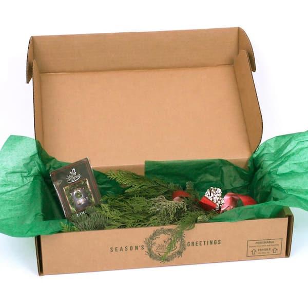 18 Van Zyverden 87423 Live Fresh Cut Pacific Northwest Festive Evergreen Noble Door Greeter Holiday Green