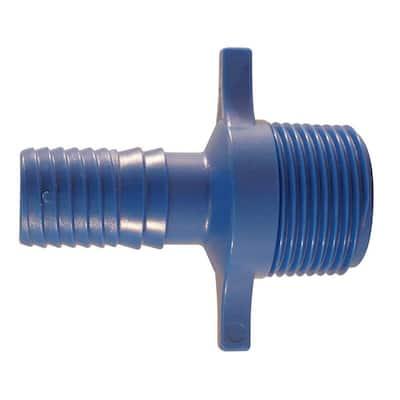 3/4 in. Polypropylene Blue Twister Insert x 1 in. MPT