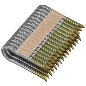 2 in. x 9-Gauge Galvanized Barbed Paper Tape Fencing Staples (960 per Box)