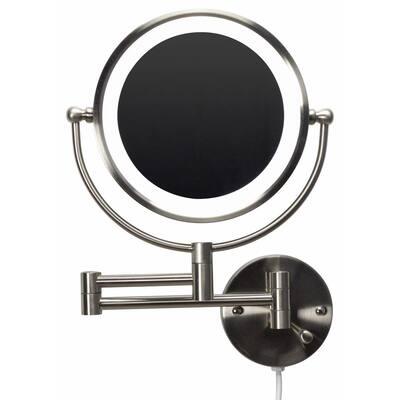 Tri Fold Bathroom Mirrors Bath The Home Depot