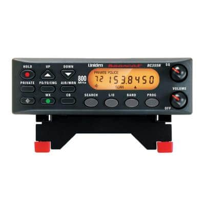 800 MHz Bearcat Base and Mobile Scanner with Narrowband Compatibility