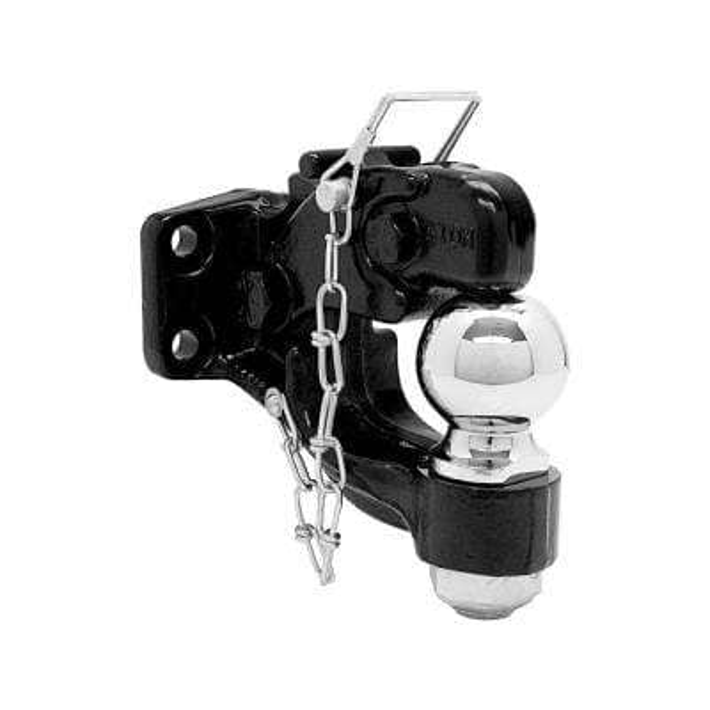 50 mm 8-Ton Chrome Combination Hitch Ball