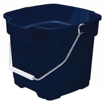 Roughneck 3-3/4 Gal. Royal Blue Plastic Bucket
