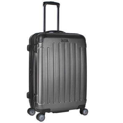 """""""Logan Square"""" Collection Lightweight Hardside ABS 8-Wheel Expandable 25 in. Checked Luggage With Corner Guards"""