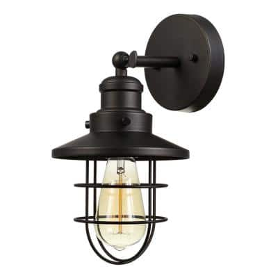 Beaufort 1-Light Oil Rubbed Bronze Sconce