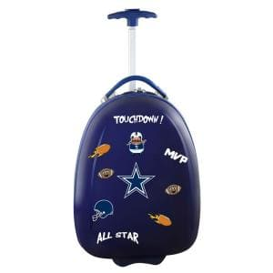 NFL Dallas Cowboys 18 in. Navy Kids Pod Luggage Suitcase