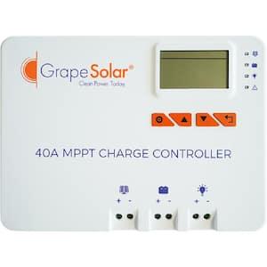Zenith 12/24-Volt 40 Amp MPPT Solar Charge Controller