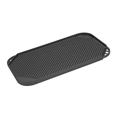 Cast Aluminum 2-Burner Reversible Griddle