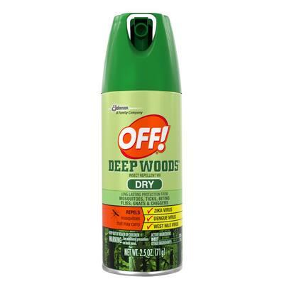 2.5 oz. Insect Repellent VIII Dry Deep Woods (12 per Case)