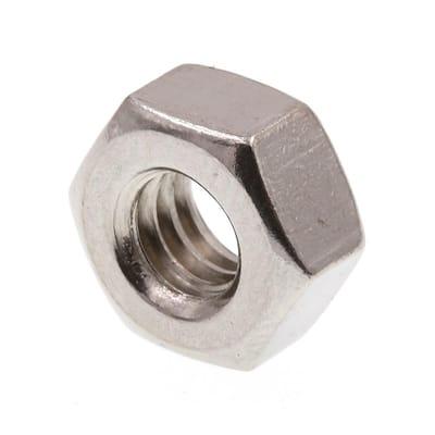 1/4 in.-20 Grade 18-8 Stainless Steel Hex Nut (50-Pack)