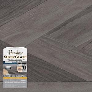 1 qt. Gloss Classic Gray Super Glaze Finish and Preservative