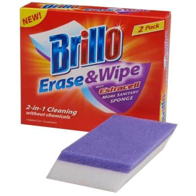 Erase and Wipe (2-Count Case of 12)