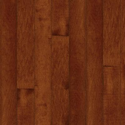 Maple Cherry 3/4 in. Thick x 2-1/4 in. Wide x Varying Length Solid Hardwood Flooring (20 sq. ft. / case)