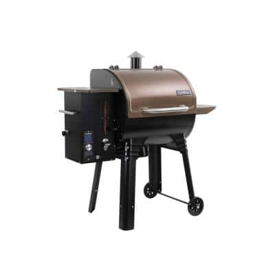 SmokePro SG 24 WIFI Pellet Grill in Bronze